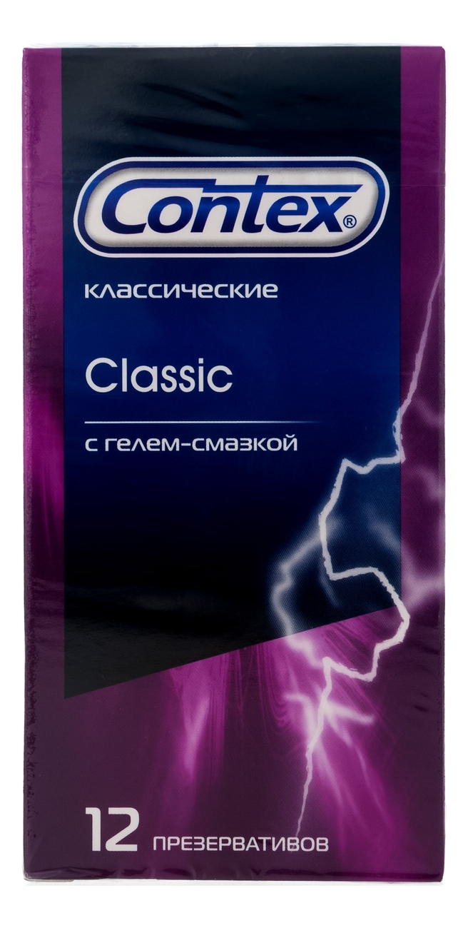Купить Презервативы классические Classic 12шт: Презервативы 12шт, Contex