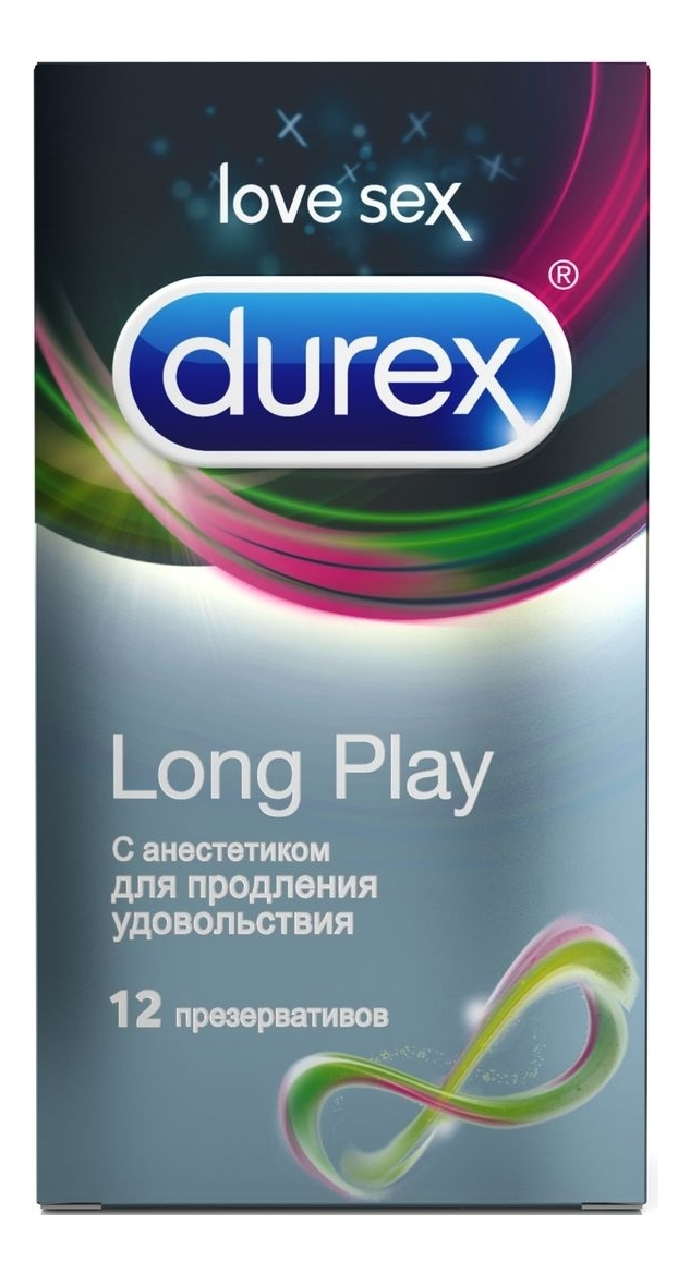 Презервативы с анестетиком Long Play: 12шт