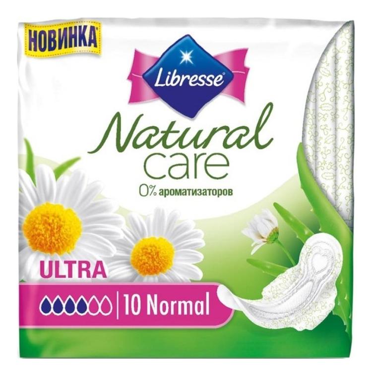 Прокладки гигиенические Natural Care Ultra Normal 10шт недорого