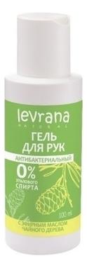 Антибактериальный гель для рук с эфирным маслом чайного дерева: Гель 100мл гель антисептический для рук с маслом чайного дерева 140мл