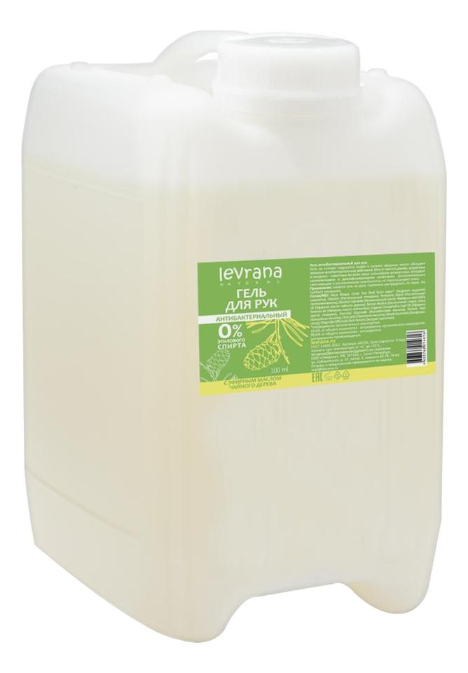 Антибактериальный гель для рук с эфирным маслом чайного дерева: Гель 5л гель антисептический для рук с маслом чайного дерева 140мл