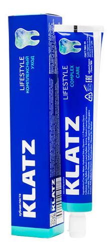 Купить Зубная паста Комплексный уход Lifestyle 75мл, Klatz