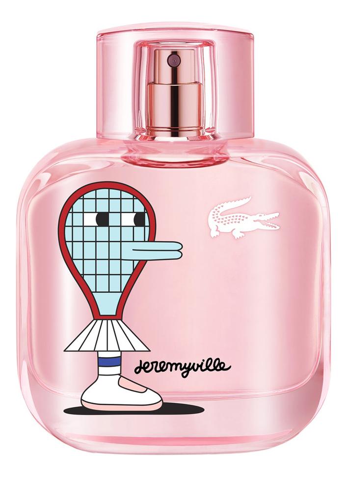Купить Eau de Lacoste L.12.12 Sparkling Collector Edition Pour Femme x Jeremyville: туалетная вода 50мл