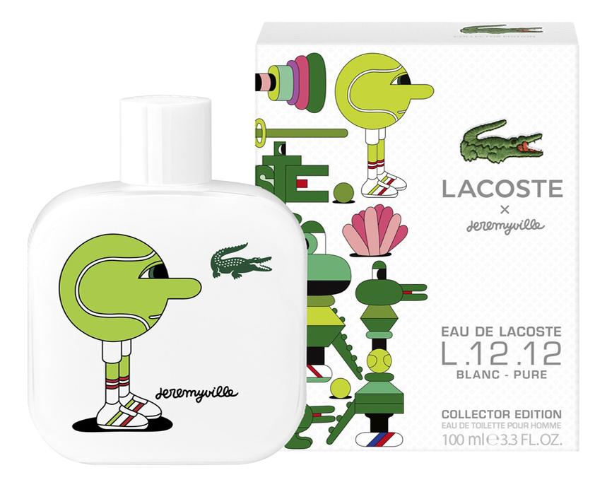 Eau de Lacoste L.12.12 Blanc Pure Collector Edition Pour Homme x Jeremyville: туалетная вода 100мл недорого
