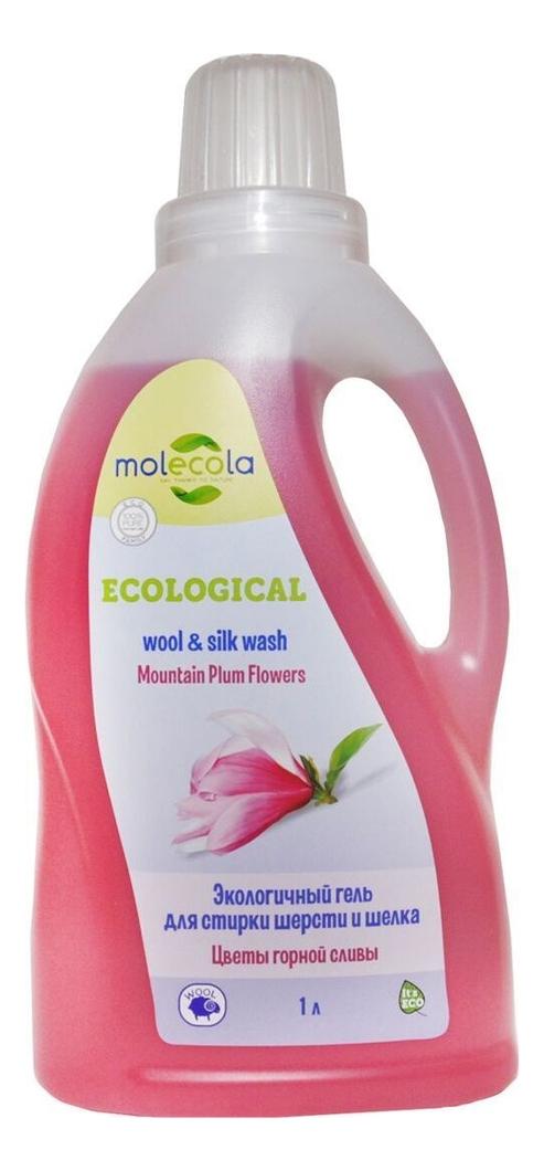 Экологичный гель для стирки шерсти и шелка Цветы горной сливы Laundry Liquid Flowers Mountain Plum 1000мл