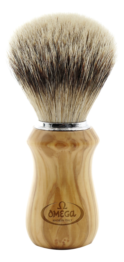 Помазок для бритья Щетина барсука 12см 6832 помазок для бритья kurt к 10006