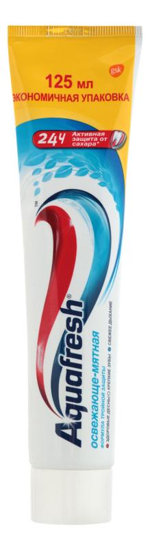 Зубная паста Освежающе-мятная: Паста 100мл (помпа) зубная паста babyline тутти фрутти
