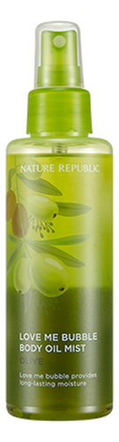 Спрей-масло для тела Love Me Bubble Body Oil Mist-Olive 200мл платье love republic love republic lo022ewsar17