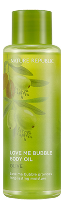 Масло для тела Love Me Bubble Body Oil-Olive 155мл