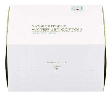 Рельефные ватные диски Beauty Tool Natural Water Jet Cotton 80шт