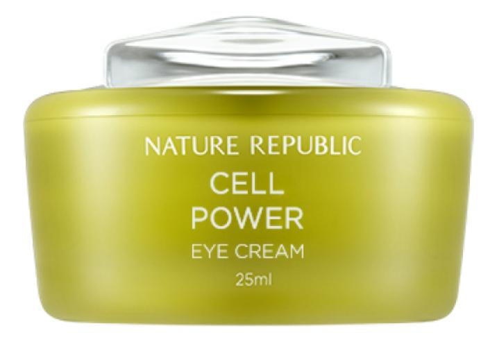 Интенсивный крем для области вокруг глаз со стволовыми клетками Cell Power Eye Cream 25мл jigott крем для кожи вокруг глаз со стволовыми клетками daandanbit stem cell eye cream 50 мл