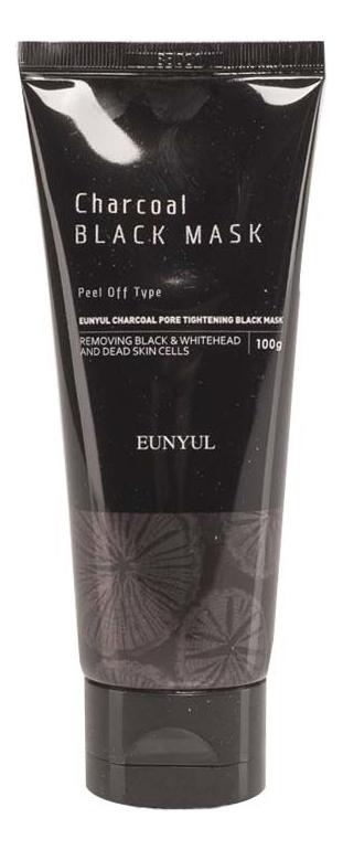 Маска для лица Pore Tightening Black Mask: Маска 100мл маска на основе белой глины pore tightening clay pack 100мл