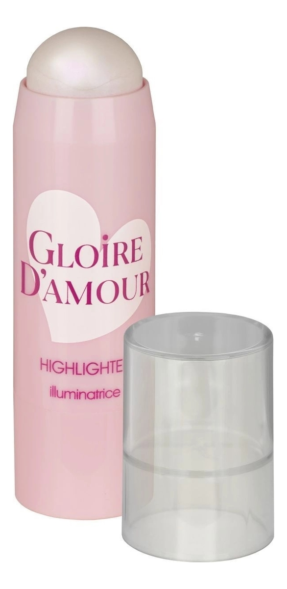 Хайлайтер-стик для лица Gloire D'Amour Highlighter Illuminatrice 4г: No 01 кремовый хайлайтер для лица peko jjang melti jelly highlighter 6г no 01