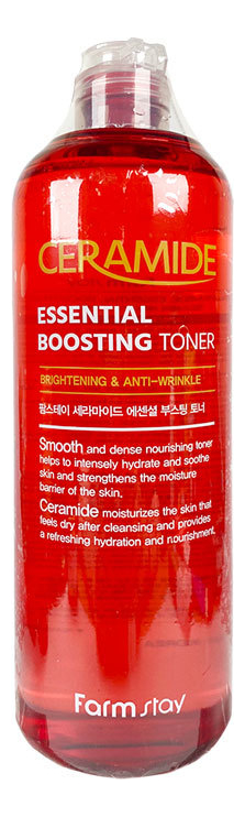 Тонер для лица с керамидами Ceramide Essential Boosting Toner 500мл недорого