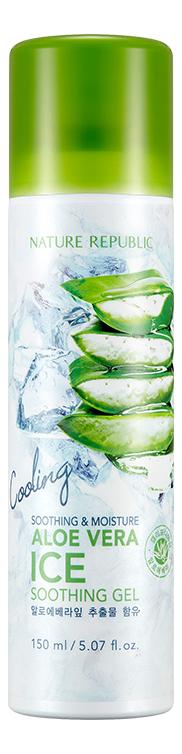 Охлаждающий гель для лица с алоэ Soothing & Moisture Aloe Vera Ice Gel 150мл