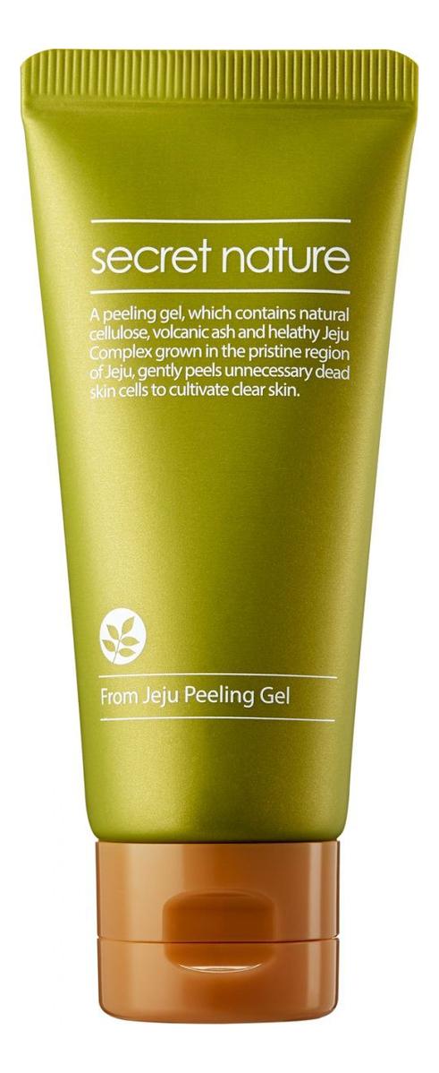 Фото - Увлажняющий гель-пилинг для лица с экстрактом зеленого чая From Jeju Line Peeling Gel: Гель-пилинг 30мл пилинг гель для лица с экстрактом клубники peeling gel 30мл