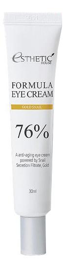 Крем для кожи вокруг глаз Formula Eye Cream Gold Snail 30мл