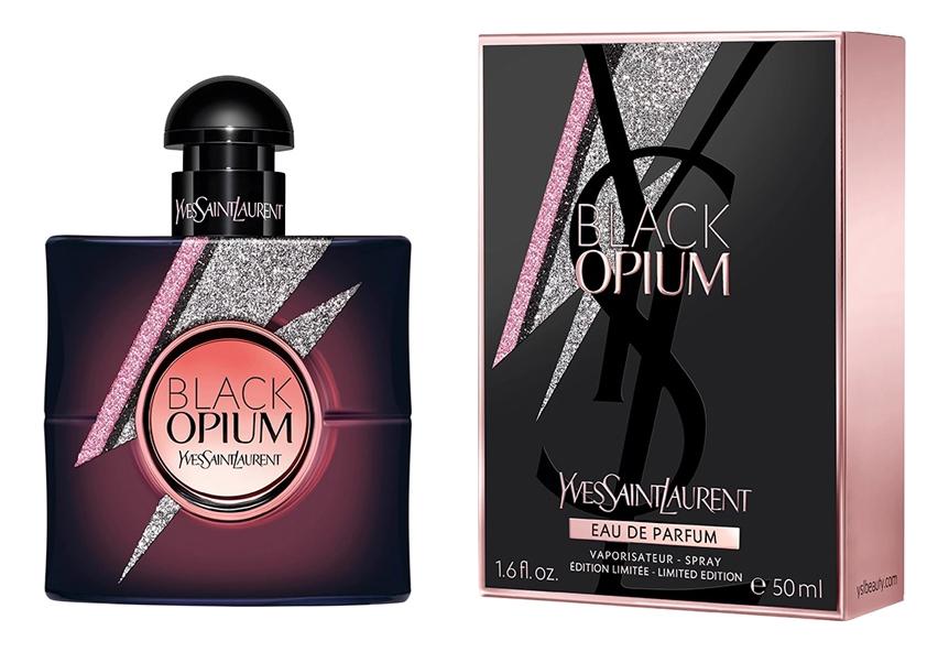 YSL Black Opium Storm Illusion: парфюмерная вода 50мл ysl black opium collector edition 2018 парфюмерная вода 50мл тестер