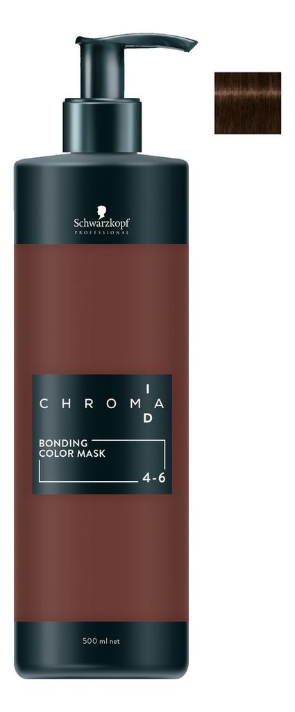 Тонирующая маска для волос Chroma ID Bonding Colour Mask 500мл: No 4-6