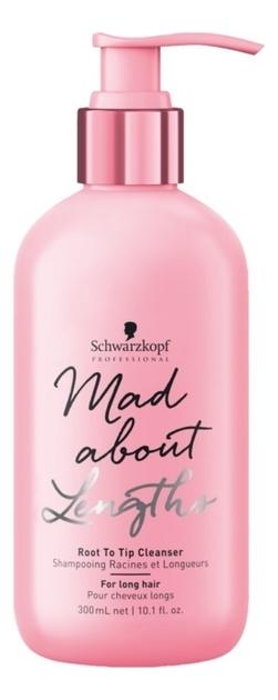 Бессульфатный шампунь для волос Mad About Lengths Root To Tip Cleanser: Шампунь 300мл