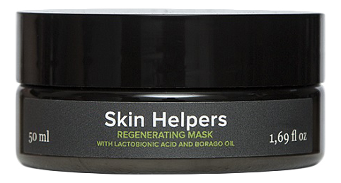 Регенерирующая маска с лактобионовой кислотой и маслом бораго Botanix Skin Helpers 50мл недорого