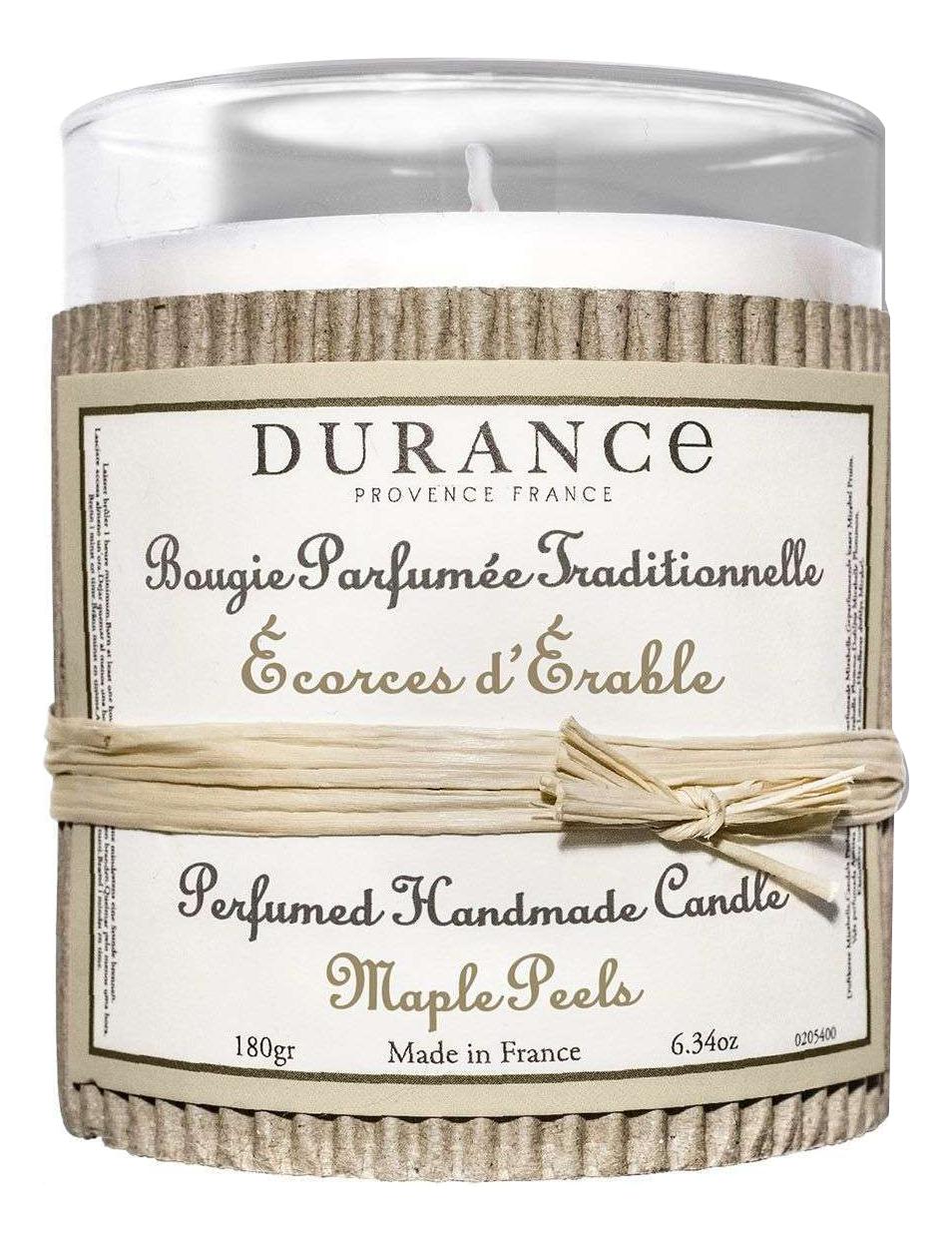 Купить Ароматическая свеча Bougie Parfumee Fraditionnelli Ecorces D'erable 180г (кора дуба), Durance