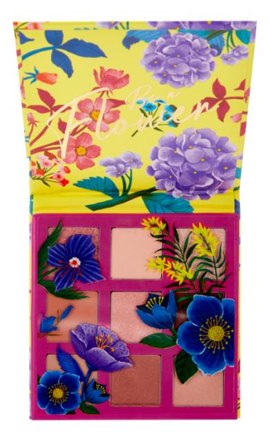 Палетка теней для век Be A Flower Palette 11,7г: 02 Pink