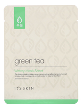 It's Skin Тканевая маска для лица с экстрактом зеленого чая Green Tea Watery Mask Sheet 17г