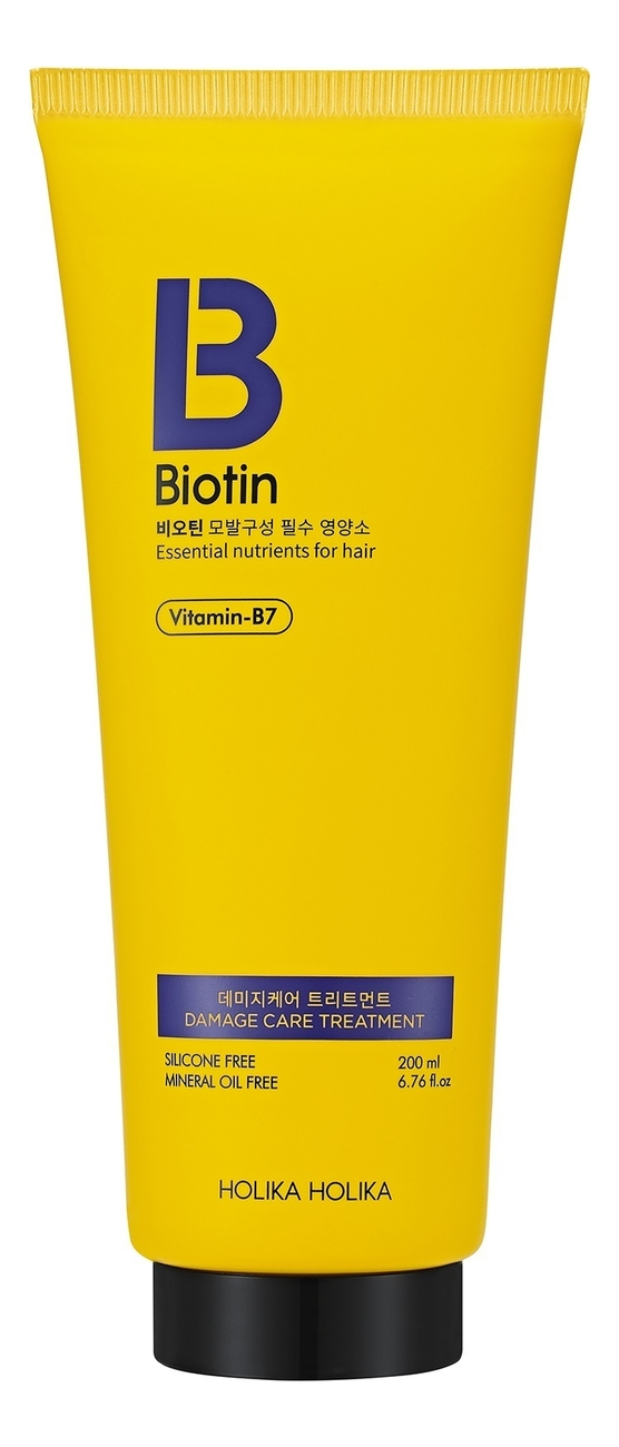 Кондиционер для поврежденных волос Biotin Damage Care Treatment 200мл