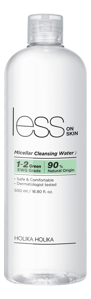 Мицеллярная вода для лица Less On Skin Micellar Cleansing Water 500мл