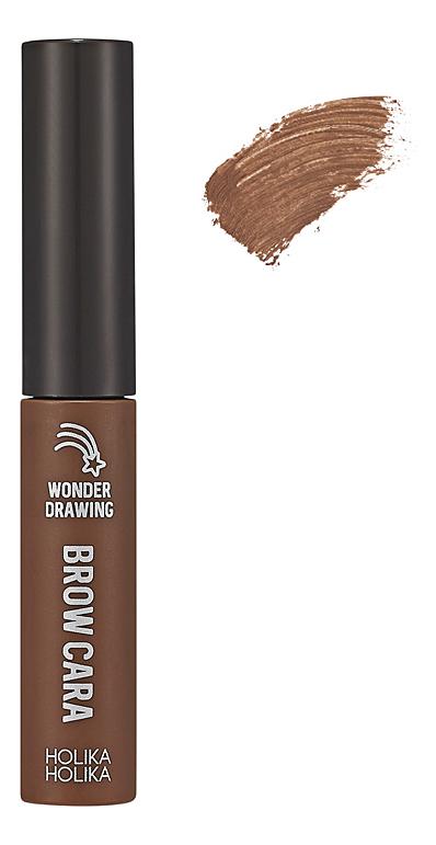 Тушь для бровей Wonder Drawing 1sec. Finish Browcara 4,5г: 06 Choco Brown фото