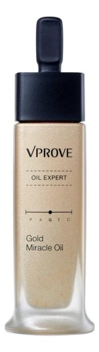 Тонизирующее масло для лица с золотом Oil Expert Gold Miracle Oil 30мл недорого