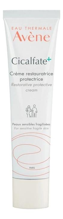 Восстанавливающий защитный крем для лица и тела Cicalfate Creme Restauratrice Protective 40мл: Крем 40мл avene cicalfate крем для лица восстанавливающий целостность кожи 40 мл
