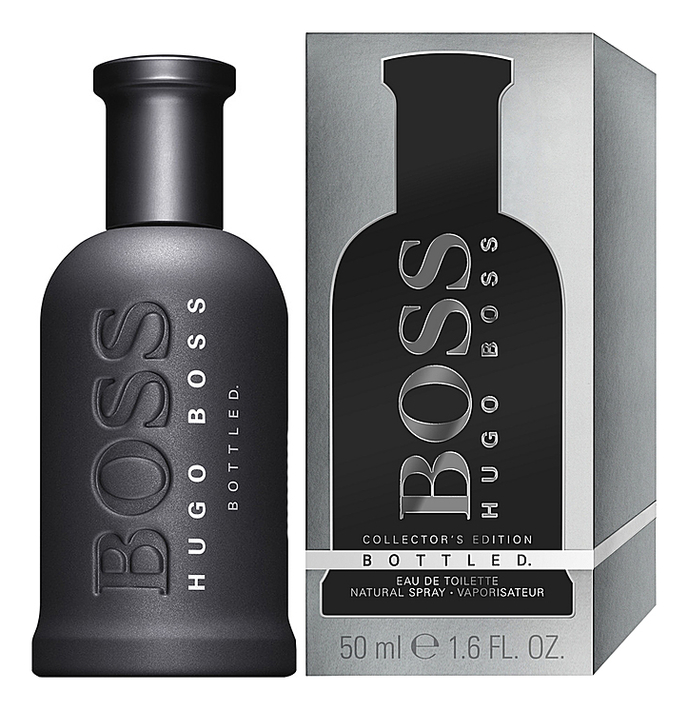 Hugo Boss Boss Bottled Collector's Edition: туалетная вода 50мл туалетная вода hugo boss boss bottled night 30 мл