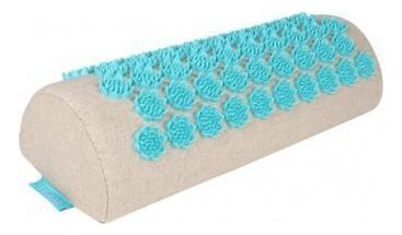 Массажная подушка акупунктурная полукруглая EcoLife (бирюзовая) недорого
