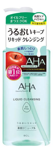 Очищающая сыворотка для снятия макияжа с фруктовыми кислотами AHA Liquid Cleansing 200мл