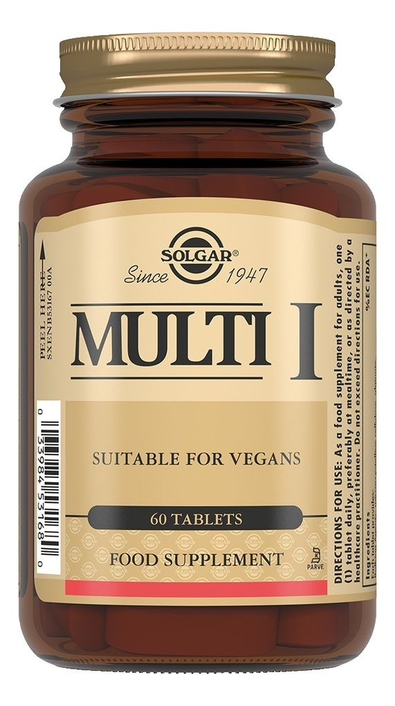 Биодобавка Мульти Multi I: Биодобавка 60 таблеток