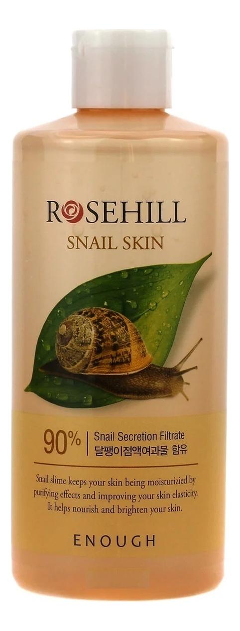 Тонер для лица с муцином улитки Rosehill Snail Skin 300мл недорого