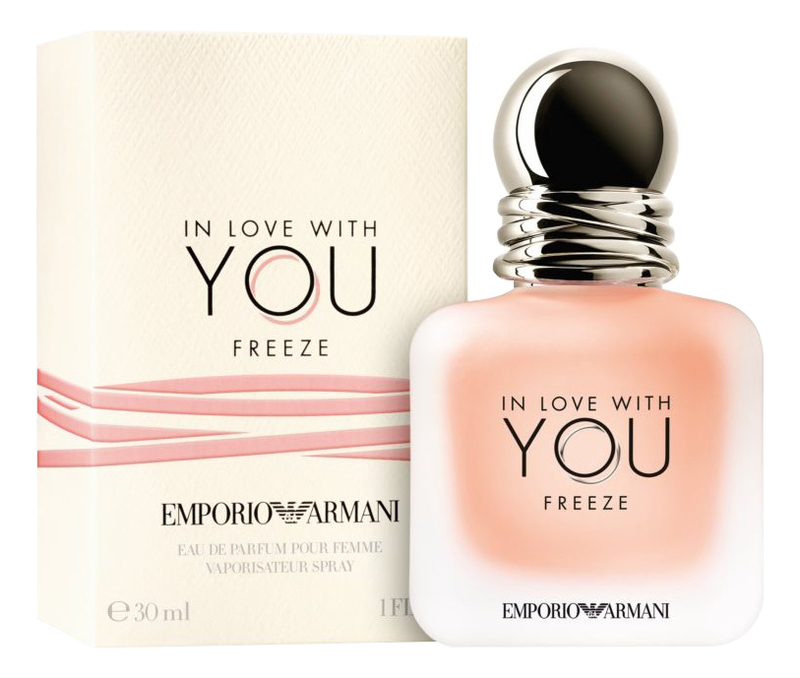Фото - Armani Emporio In Love With You Freeze: парфюмерная вода 30мл giorgio armani in love with you набор