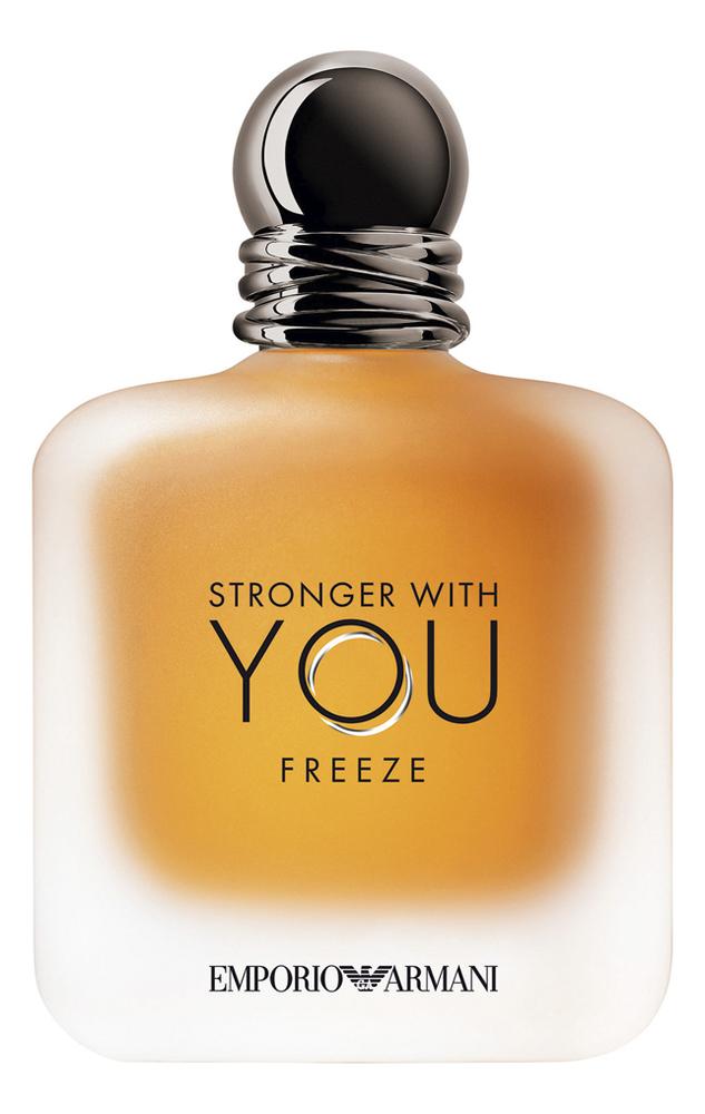 Фото - Armani Emporio Stronger With You Freeze: туалетная вода 15мл giorgio armani in love with you набор