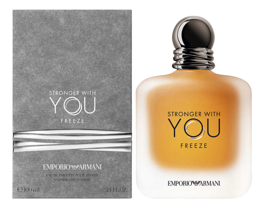 Фото - Emporio Stronger With You Freeze: туалетная вода 100мл парфюмерная вода giorgio armani stronger with you intensely 50 мл