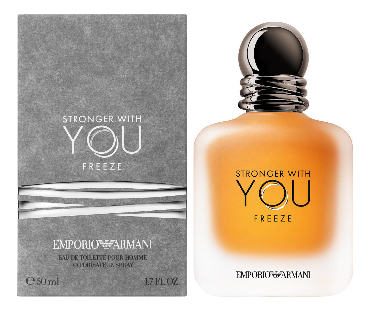 Фото - Emporio Stronger With You Freeze: туалетная вода 50мл парфюмерная вода giorgio armani stronger with you intensely 50 мл