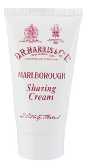 Крем для бритья в тюбике Shaving Cream 15мл: Marlborough (цитрус, кедр, сандал) шампунь в тюбике