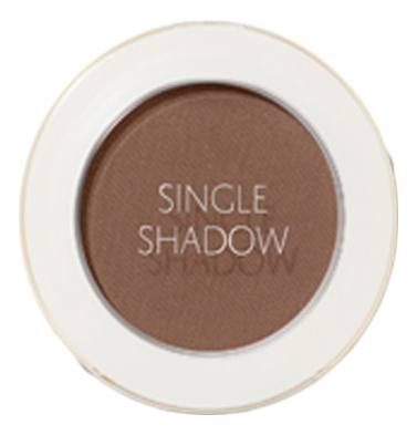 Купить Тени для век матовые Saemmul Single Shadow Matt 1, 6г: BR21 Horror Brown, The Saem