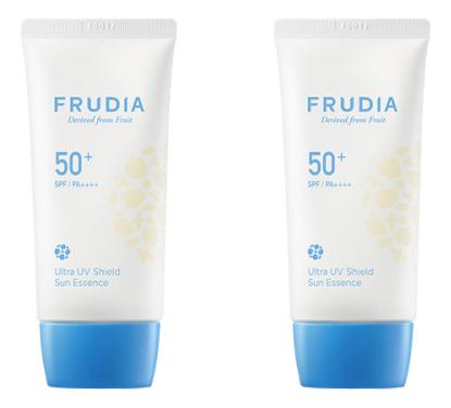 Купить Крем-эссенция для лица с ультра защитой от солнца Ultra UV Shield Sun Essence SPF50+ PA++++: Крем-эссенция 2*50г, Frudia