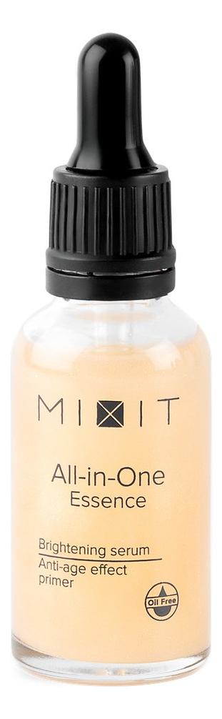 Купить Праймер-лифтинг для лица с комплексом пептидов и экстрактом женьшеня All-In-One Essence Brightening Serum Anti-Age Effect Primer 30мл, MIXIT