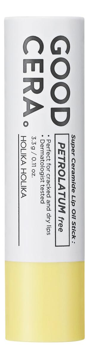 Фото - Бальзам для губ с керамидами Skin & Good Cera Super Ceramide Lip Oil Stick 3,3г holika holika бальзам для губ