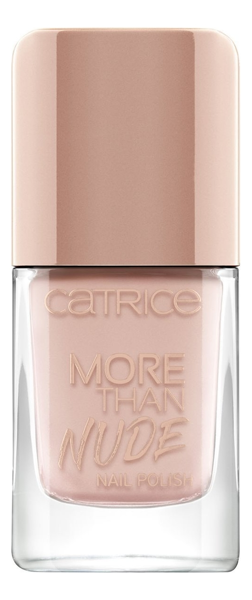 Купить Лак для ногтей More Than Nude Nail Polish 10, 5мл: 07 Nudie Beautie, Catrice Cosmetics