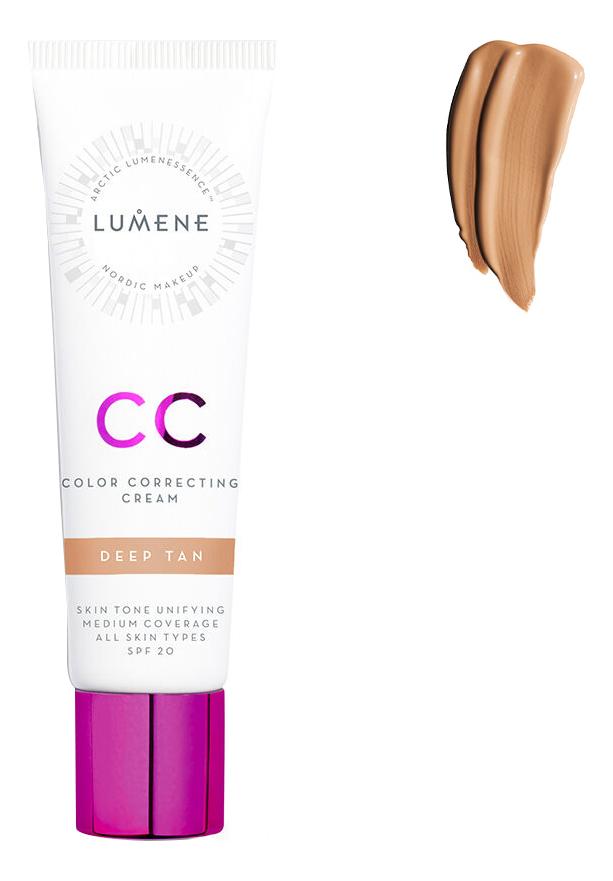 CC крем Абсолютное совершенство Nordic Chic Color Correcting Cream SPF20 30мл: Deep Tan cc крем lumene lumene lu021lwcmog0