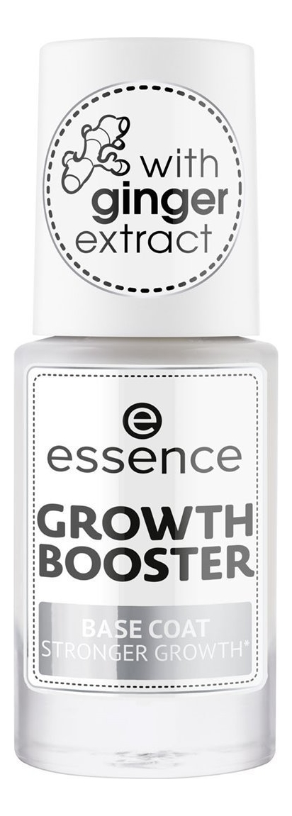 Базовое покрытие для роста ногтей Growth Booster Stronger 8мл
